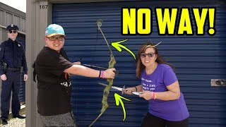 Storage Unit LOADED WITH WEAPONS! I Bought An Abandoned Storage Unit! Storage Unit Finds
