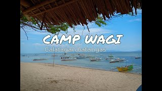 CAMP WAGI Calatagan, Batangas (Sandbar + Starfish Island + Snorkeling) March 2019