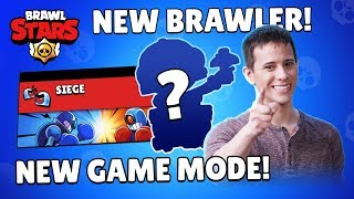 Brawl Talk: New Brawler, New Game Mode, New Skin!