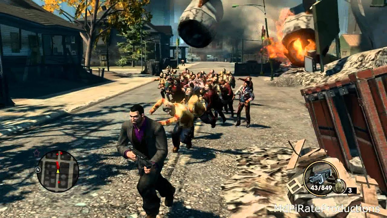 Saints Row 3 Zombies Youtube