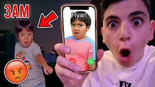 DO NOT CALL RYAN'S WORLD AT 3AM! (HE BROKE INTO MY HOUSE!)