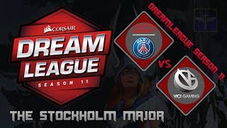 PSG.LGD vs Vici Gaming / Bo3 / DreamLeague Season 11 Stockholm Major  / Dota 2 Live
