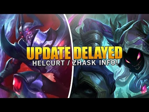 New Hero Zhask Delayed and Helcurt Release Date Confirmed! Mobile Legends