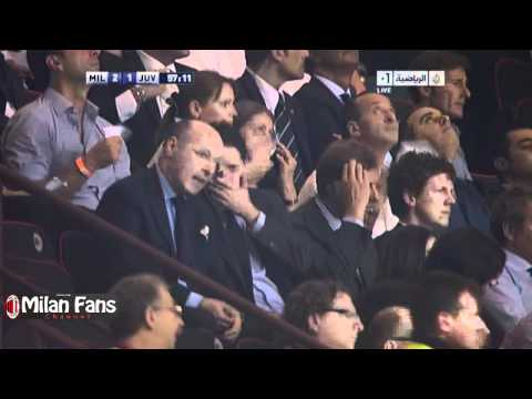 Vucinic Goal on AC Milan - Berlusconi Cup 2011