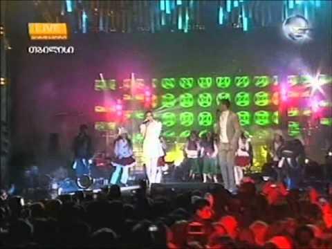 Duet Georgia & Basti Bubu Esa Mesa saaxalclo koncerti 2012 rati