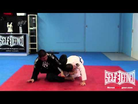 BJJ Omoplata Technique - Jiu Jitsu Rubber Guard Submissions Image 1