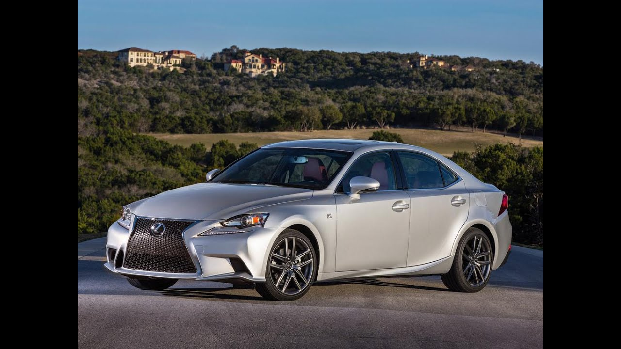 2016 lexus is f sport review youtube