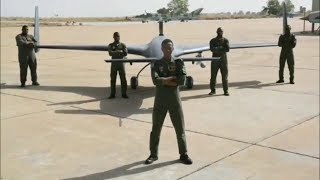 WOW!!! Meet Nigerian Air Force Armed Attack Drone Squadron In Charge of Raining Bombs on Boko Haram