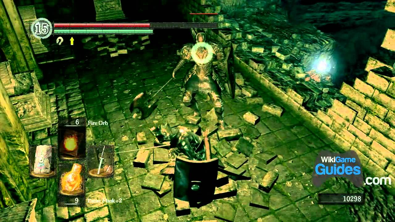 how to get to the catacombs dark souls