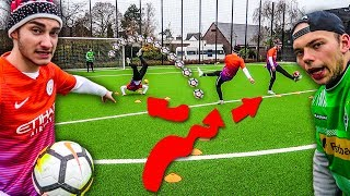 ULTIMATIVE FUßBALL PARCOURS CHALLENGE !!