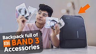 Accessories For Your Mi Band 3 In a BackPack  I In Hindi