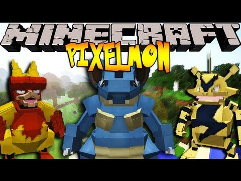 Pixelmon 2.2.1 Update! ALL NEW PIXELMON!