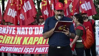 """Download Lagu DİP'ten Dolmabahçe'de anti-emperyalist eylem: """"Emperyalistler, işbirlikçiler 6. Filo'yu unutmayın!"""" Gratis STAFABAND"""