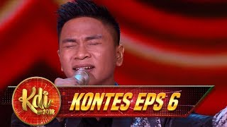 SYAHDU BANGETTT!! Rangga Membawakan Lagu [SONIA] - Kontes KDI Eps 6 (13/8)