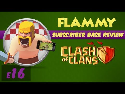 Subscriber Base Review #16 - Town Hall 9 - Clash of Clans Defensive Strategy