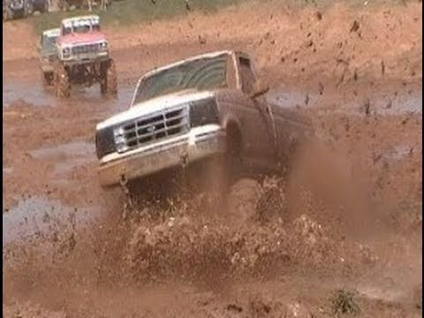 2 AWESOME FORDS AT TRUCKS GONE WILD MUDFEST 2011