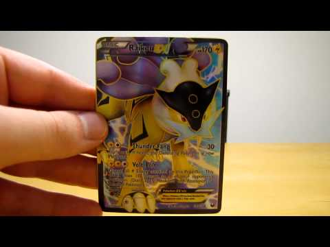 1 Full Art EX. 1 Secret Rare. and 4 EX Pokemon Cards (BCBM)