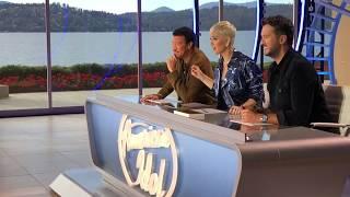 Viral Sensation Malea Emma Sings National Anthem for American Idol Judges!