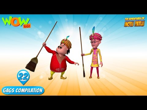 Motu Patlu - Funny Gags #22 - 1 hour episodes! thumbnail