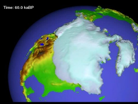 The Last Ice Age (120 000 years ago to Modern)