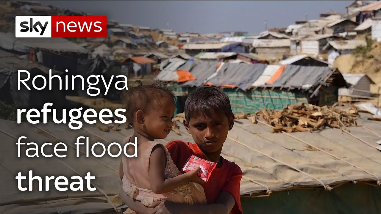 Rohingya refugees warned over risk of floods