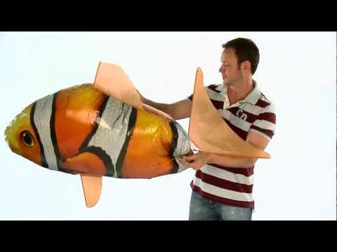 Air Swimmers eXtreme Clownfish Assembly Instructions - EN, IT & SL Captions