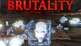 "SURPRISE UNBREAKABLE ICE CUBE BRUTALITY! - Mortal Kombat X ""Sub Zero"" Gameplay"