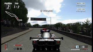 Gran Turismo 4 - Mercedes-Benz Sauber Mercedes C9 Race Car '89 Hybrid Cockpit View PS2 Gameplay HD