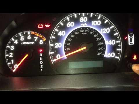 How To Reset Honda Maintenance Oil Light On 2007 Honda
