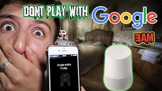 (GOOGLE WANTS TO PLAY?!) DONT TALK TO GOOGLE & SIRI AT 3 AM | DONT PLAY WITH GOOGLE AT 3 AM
