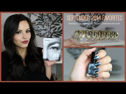 September 2014 Favorites | Sedona Lace, byAlegory, Gerard Cosmetics & More!