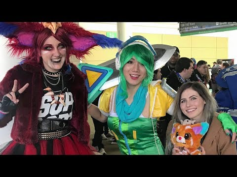 Nicki Taylor and Mel Go To PAX EAST!   PAX EAST 2018 Vlog