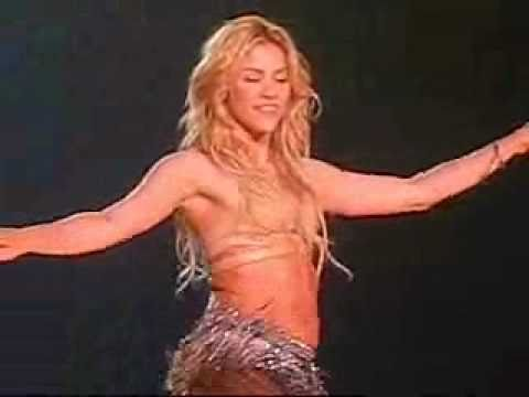 Shakira Belly Dancing!! Best Video Ever!! video