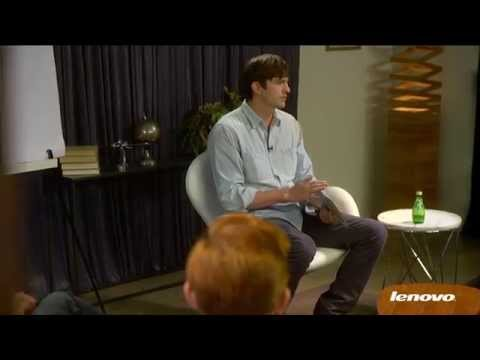 Ashton Kutcher Presents: Entrepreneurs on Lenovo Tablets Video