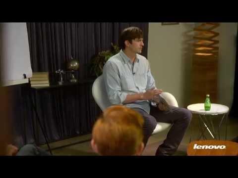Ashton Kutcher Presents: Entrepreneurs on Lenovo Tablets Video