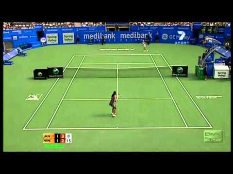 Martina Hingis vs Jelena Jankovic 2007 Sydney Highlights 2/2