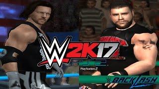 WWE 2K17 PS2: Kevin Owens vs AJ Styles - Backlash 2017 - WWE United States Championship