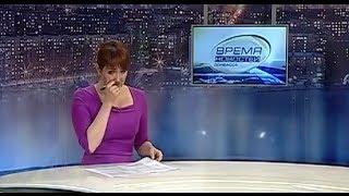 Tineri din Donețk au lăsat prezentatoarea TV în lacrimi