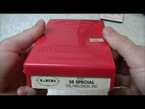 Reloading .38 Special Ammunition with the Lee Loader
