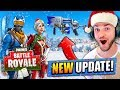 download *NEW* CHRISTMAS UPDATE for Fortnite: Battle Royale!