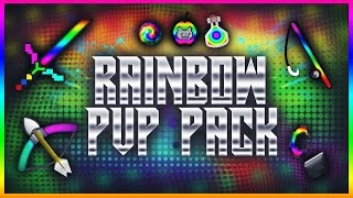 Minecraft Colorful-Rainbow HD PvP Texture Pack