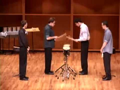 Drumming Part 1 - Steve Reich  [ Ensemble 64.8 ]