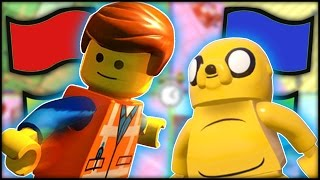 LEGO Dimensions - Battle Arena - Base Bash! Emmet & Jake the Dog!