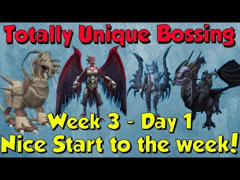 Week 3, Day 1 - Starting off Strong! [Runescape 3] Totally Unique Bossing #15