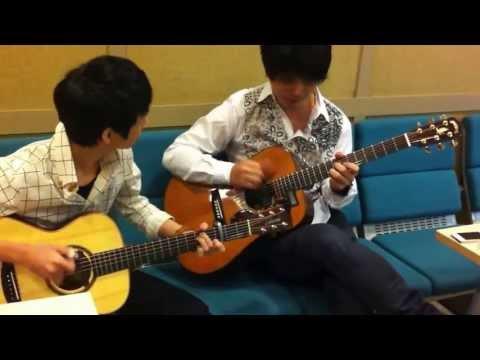 (snsd) Hoot - Kotaro Oshio & Sungha Jung video