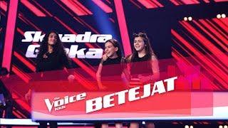 Enxhi vs Sidorela vs Tea - Dangerous   Betejat   The Voice Kids Albania 2018