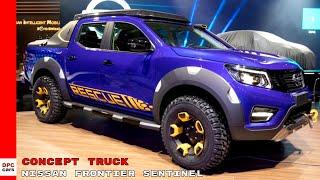 Nissan Frontier Sentinel Concept Truck