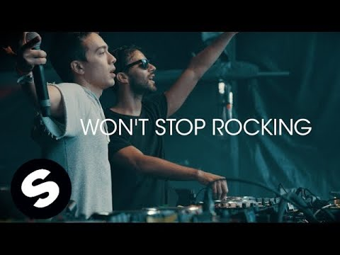 R3hab & Headhunterz - Won't Stop Rocking (Official Music Audio)