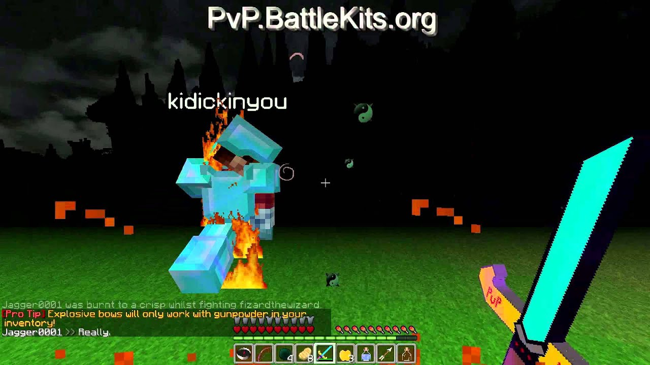 my op kits minecraft server  - pvpproject com