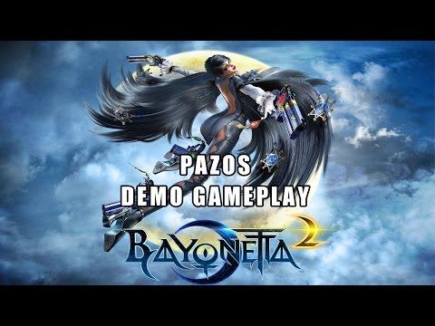Bayonetta 2 DEMO Gameplay - La Monja Cachonda